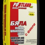 Лепилно – шпакловъчна смес за изолация EPS Портланд микс – 25 кг. Бяла (Теразид)