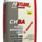 Лепилно – шпакловъчна смес за изолация EPS Портланд микс – 25 кг. Сива (Теразид)